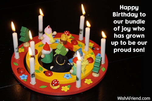 Birthday Wishes For Son Page 2 – Happy Birthday Greeting to Son
