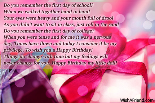 Birthday Wishes For Daughter – Birthday Greeting for a Daughter