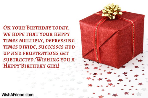 Birthday Wishes For Daughter Page 2 – Birthday Greeting for a Daughter