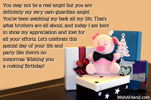 Birthday Wishes For Brother Page 2 – Birthday Greetings for Brother