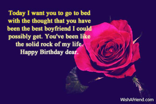 Birthday Wishes For Boyfriend Page 2 – Best Wishes in Life