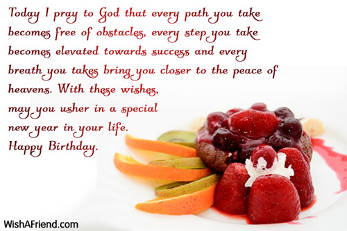 Christian Birthday Wishes – Birthday Greeting Christian