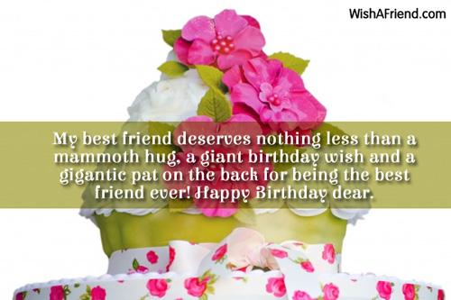 birthday essays best friend