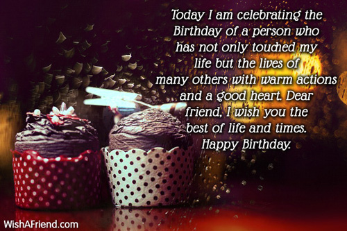 Birthday Wishes For Friends Page 3 – Friend Birthday Greetings