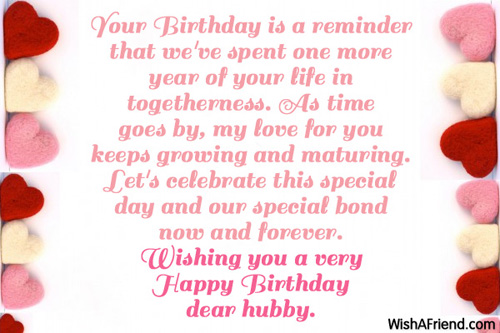 ... Photos - Birthday Message For Your Husband Birthday Wishes Husband