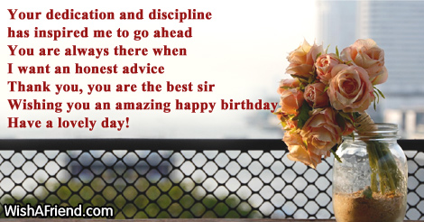 Birthday Wishes For Boss Page 2 Wish You Happy Birthday Sir