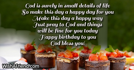 Christian Birthday Wishes Page 4 – Birthday Greeting Christian