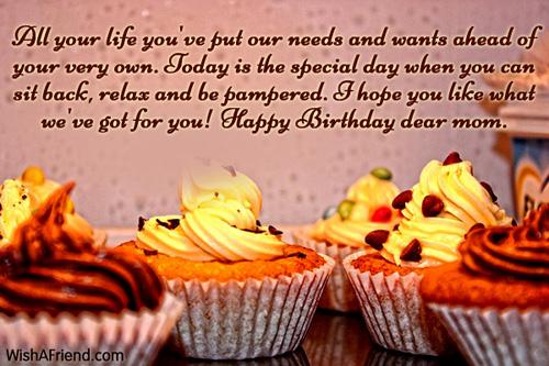 Mom Birthday Messages – Emotional Birthday Cards