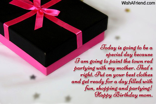 Mom Birthday Messages – Birthday Greetings to Mother