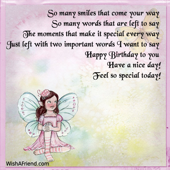 Cute Birthday Sayings – Words to Say in a Birthday Card