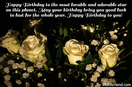 Happy Birthday Greetings – Pictures of Birthday Greetings