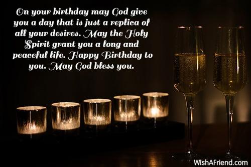 Christian Birthday Greetings – Catholic Greetings Birthday