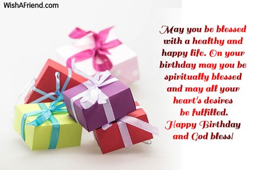 Christian Birthday Greetings – Birthday Greetings Religious