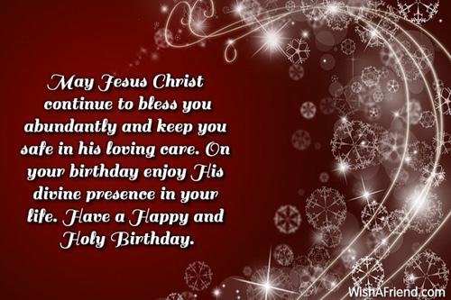Christian Birthday Greetings – Christian Birthday Greetings
