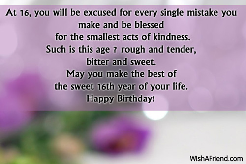 1919-16th-birthday-wishes
