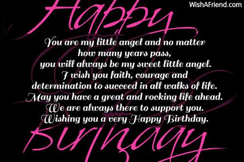 Birthday Card Sayings Daughter gangcraftnet – Words for 21st Birthday Card