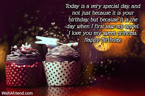 Birthday Wishes For Daughter – Birthday Greetings for a Daughter from Mother