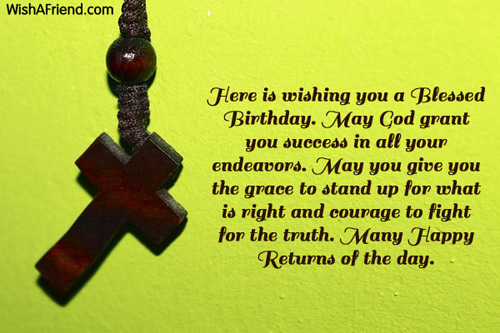 Christian Birthday Greetings Page 2 – Birthday Greeting Christian