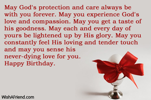 Birthday Wishes For Sister In Christ ~ Christian birthday greetings