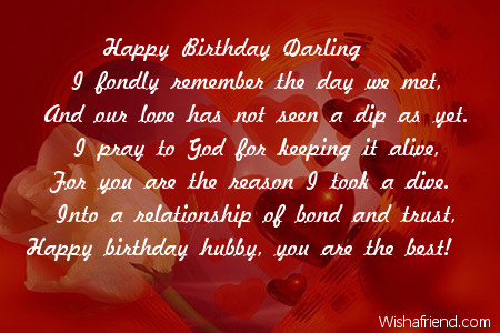 Swell Husband Birthday Poems Valentine Love Quotes Grandhistoriesus