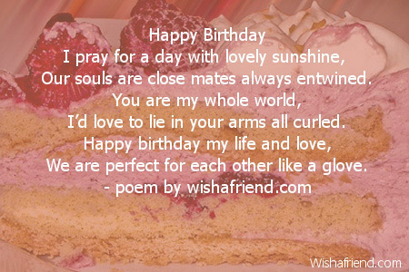 pictures on happy birthday paragraph to boyfriend