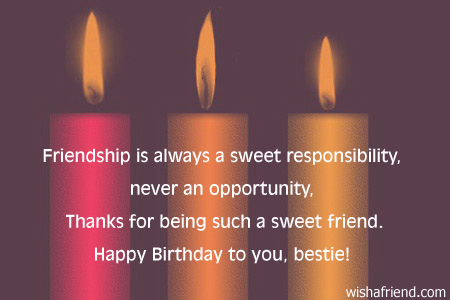 Best Friend Birthday Quotes – Quotes for Best Friends Birthday Cards