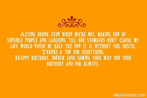 Best Friend Birthday Wishes Letter.Letter To My Best Friend A Happy 19th Birthday Itefb4nv