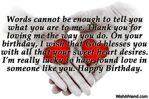 Love Quotes For Him On His Birthday Images & Pictures - Becuo