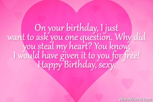 sexy birthday quotes for boyfriend quotesgram