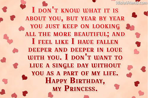 Birthday Picture Quotes For Girlfriend: Funny love sad birthday ...