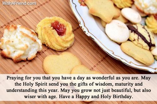 Christian Birthday Wishes – Catholic Greetings Birthday