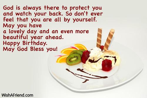 Christian Birthday Wishes – Christian Birthday Greetings