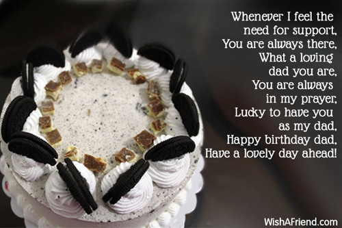 Birthday Wishes For Dad – Happy Birthday Greetings to Father