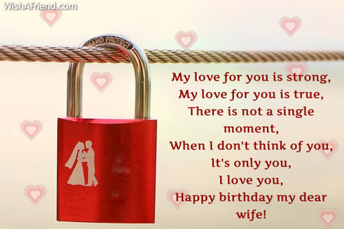 Birthday Wishes For Wife Page 2 – Birthday Greetings for Wife
