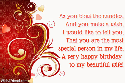 Birthday Wishes For Wife Page 3 – Birthday Greetings for Wife