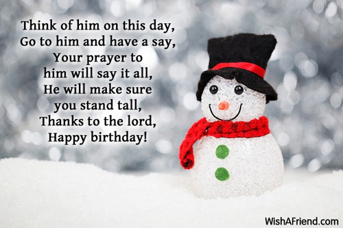 Christian Birthday Messages – Religious Birthday Card Messages