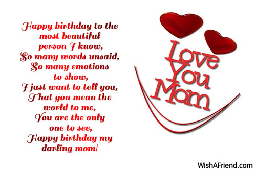 mother to letter happy birthday her wishing for mom birthday wishes
