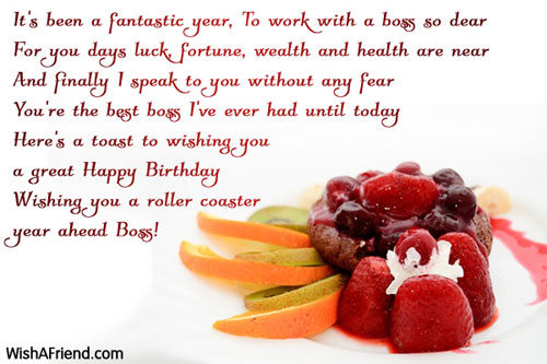 Birthday Wishes For Boss Page 2 – Birthday Greetings Boss