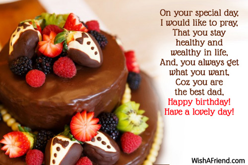 Doc Birthday Greetings to a Father All wishes message – Birthday Greetings to