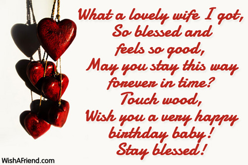 Birthday Wishes For Wife – Birthday Card Messages for Wife