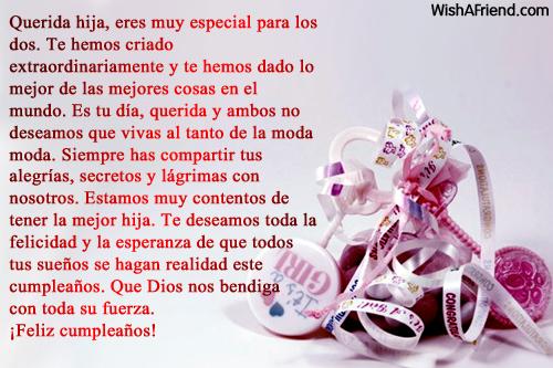 Mensajes De Felicitacion De Cumpleanos Para La Hija Page 4