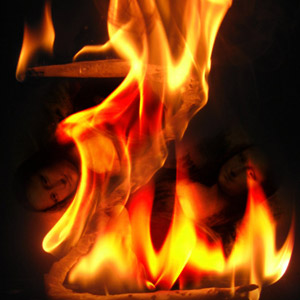 Letter Z -Fire Photo Effect Generator
