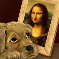 Cute Doggie Frame